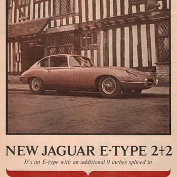 1966 Jaguar Advertisement - Advertising