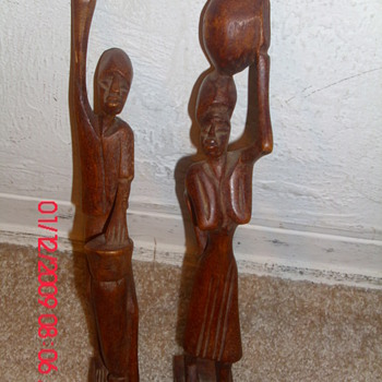 My newest couple - Folk Art