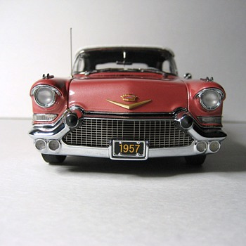 1957 Cadillac Eldorado Biarritz Convertible Die-Cast Replica - Model Cars