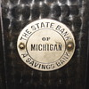 "Promotional Advertizing Steel Bank""The State Bank of Michigan""Circa 1890"