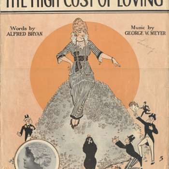 "Sheet Music 1914, Honey Was""High Maintenance""!!(To Many!!) - Music"