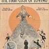 "Sheet Music 1914, Honey Was""High Maintenance""!!(To Many!!)"