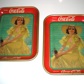 Coca-Cola &quot;38 Special&quot; Trays