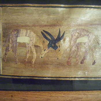 PAPYRUS ART ? ? ?/ marquetry /egyptian ?
