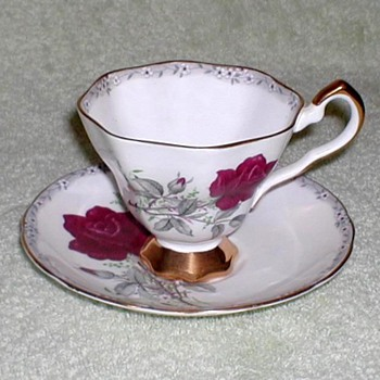 """Royal Stafford"" Bone China Cup & Saucer"