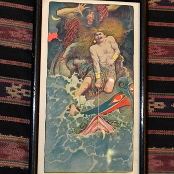 Print from Japanese Mythology - Posters and Prints