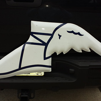 Goodyear Porcelain Winged Foot