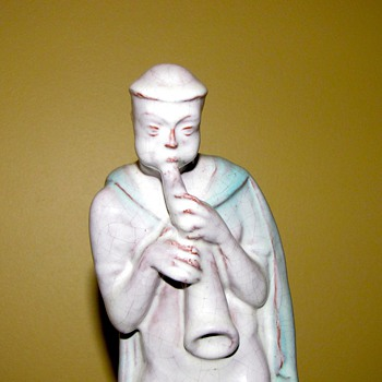 Carl Kahl early Art deco Terracotta Figure