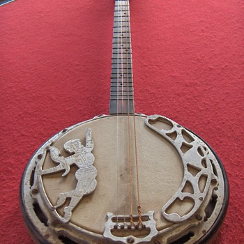 UNUSUAL 6 STRING BANJO - Musical Instruments