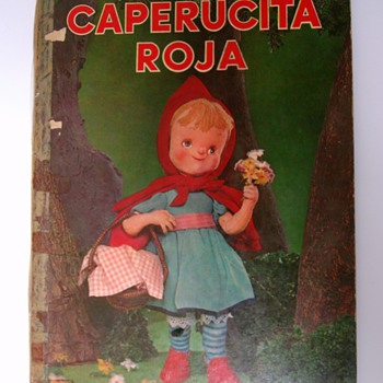 Vintage Children Book.