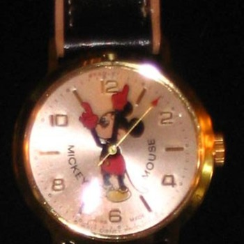 1973 50th anniversary Mickey - Wristwatches