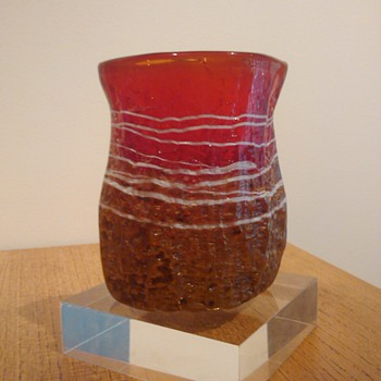 PETER GOSS - QUEENSLAND AUSTRALIA 1984 - Art Glass