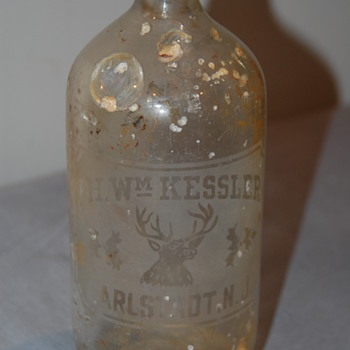 PH. Wm Kessler Bottle - Bottles