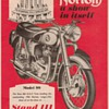 1955 Norton Motorcycle Advertisement