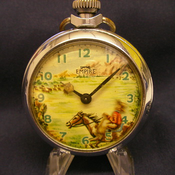 Animated Cowboy Ranger Pocket Watch by Smith's