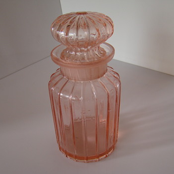Rosaline glass jar