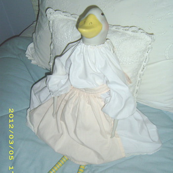 my mother's duck doll