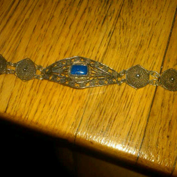 Mexican Vintage Filigree Bracelet