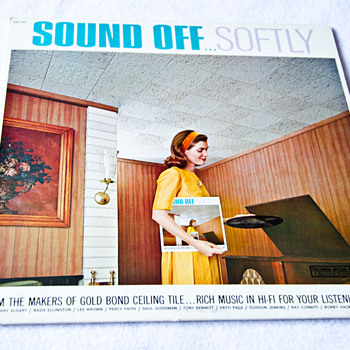 Sound Off  Softly   Vintage Limited Edition LP by Columbia Records