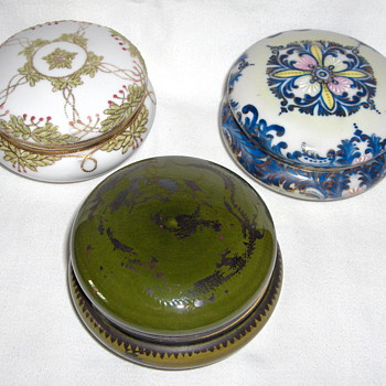 Selection of Three Japanese 1900-1910 Dresser Jars