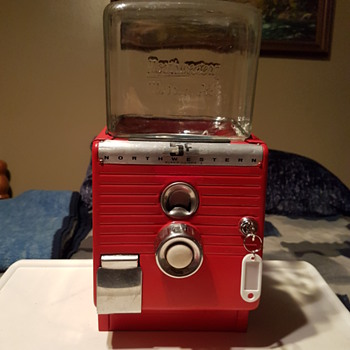 Northwestern Gumball Machine Model 49 - Coin Operated