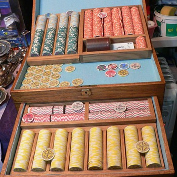 REGENCY Poker Chips, Mother of a Collection! - Games