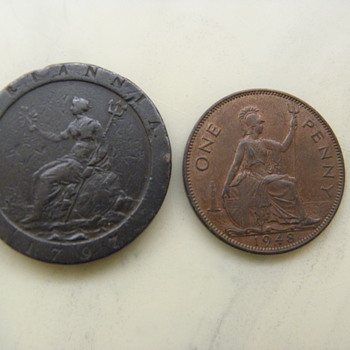 Early coin And Modern