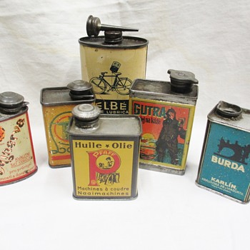 My favorite oil cans!