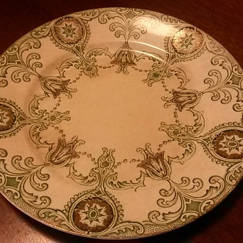 Staffordshire England plate