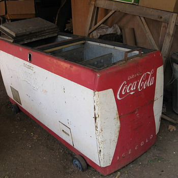Our fridge restoration - Coca-Cola