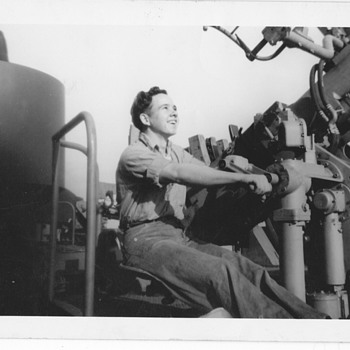 My Dad on Navy Ship 1940's - Photographs