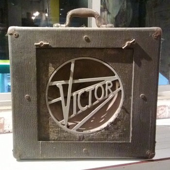 Victor Animatograph Projector Speaker - My new project! - Electronics