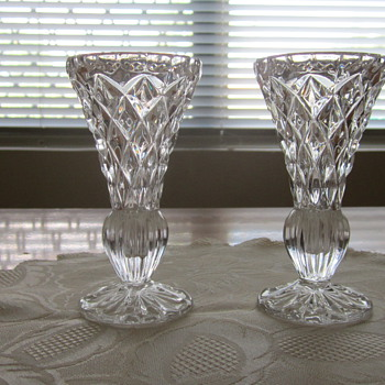 Glass vases - Glassware