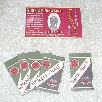 Prince Albert and Burley & Bright Tobacco Rolling Papers
