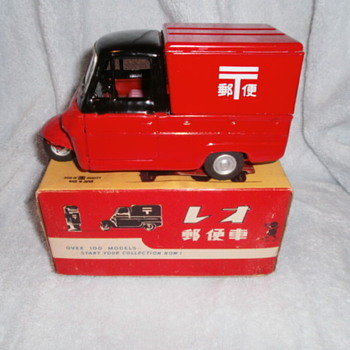 Three Wheel Delivery - Model Cars