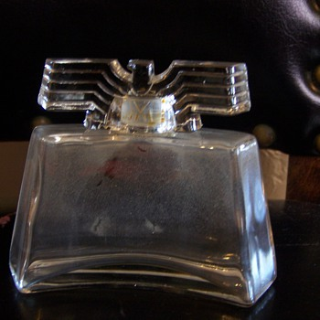 Antique vintage perfume bottle