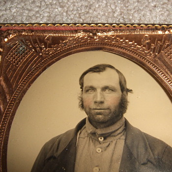 Civil War Patriotic photographic matting