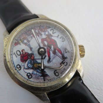 Animated Hockey Watch - Wristwatches