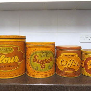 Collection of Household Tins - Kitchen