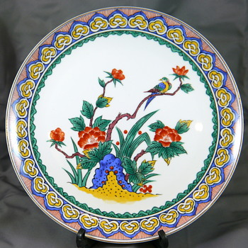 Japan Imari Plate in Chinese Export Style?