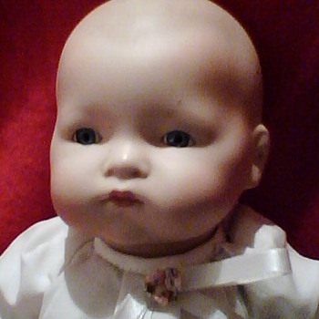 My two German Porcelain/Bisque Baby Dolls - Dolls