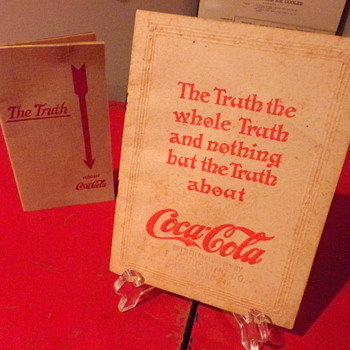 "1913 Coca-Cola ""The Truth"" Booklet"