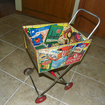 Toy Shopping Cart = Advertising Jackpot! - Advertising