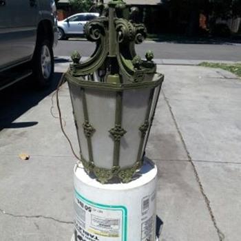 artichoke swag chandelier - Lamps