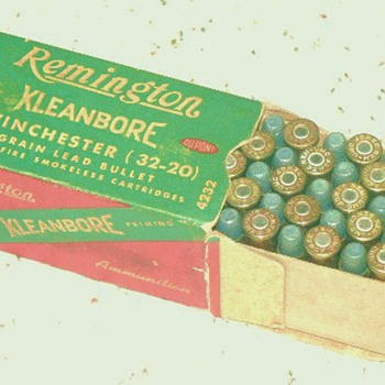 Full box of  Winchester 32-20