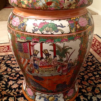 Chinese Garden Stool - Asian