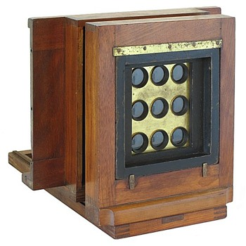 1860s American 'Multiplying' Wet Plate Camera