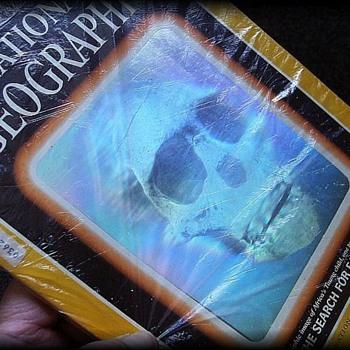 1985 NATIONAL GEOGRAPHIC MAGAZINE - SKULL HOLOGRAPH
