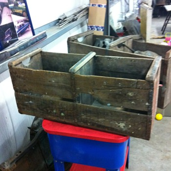 Old orange crates - Tools and Hardware