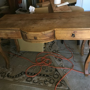 Writers desk or table  - Furniture